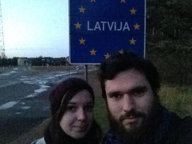 Frontière Estonie-Lettonie
