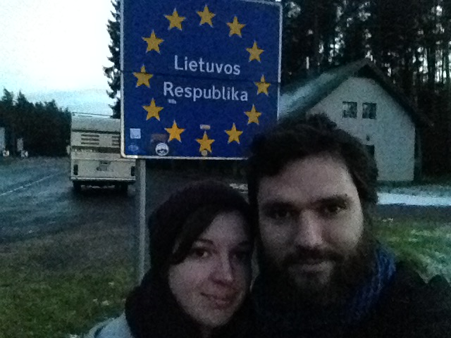 Frontière Lettonie-Lituanie